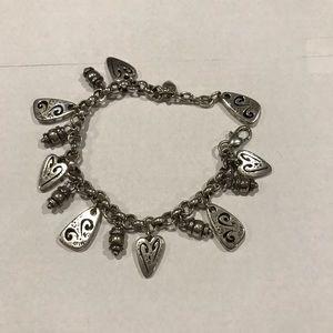 Brighton Brazilian bracelet, silver